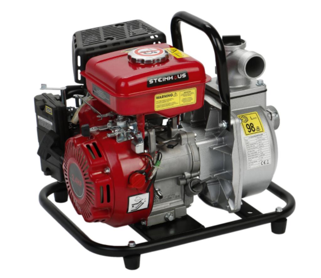 """Бензинова помпа за вода Steinhaus PRO-GP40, 1.5"""", 2.4CP, 17.000 лч"""