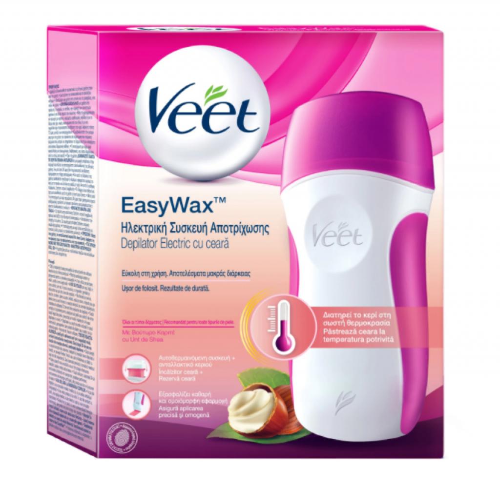 Електрическа система за топла кола маска Veet Easy Wax