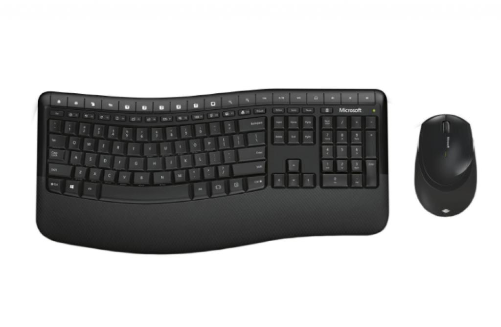 Безжична Клавиатура и Мишка Microsoft BlueTrack Desktop Comfort 5050