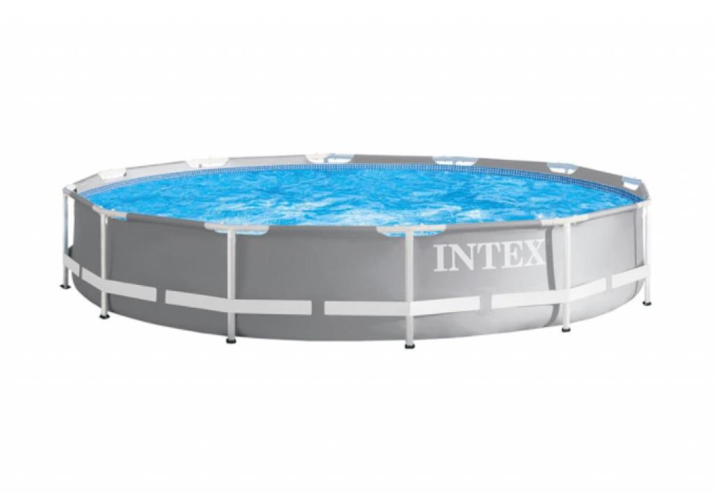 Сглобяем басейн Intex Prism Frame Premium 26712NP