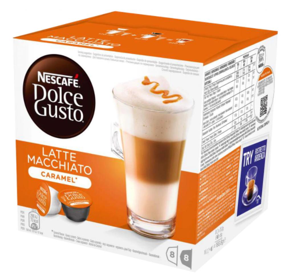 Капсули Долче Густо Latte Macchiato Caramel