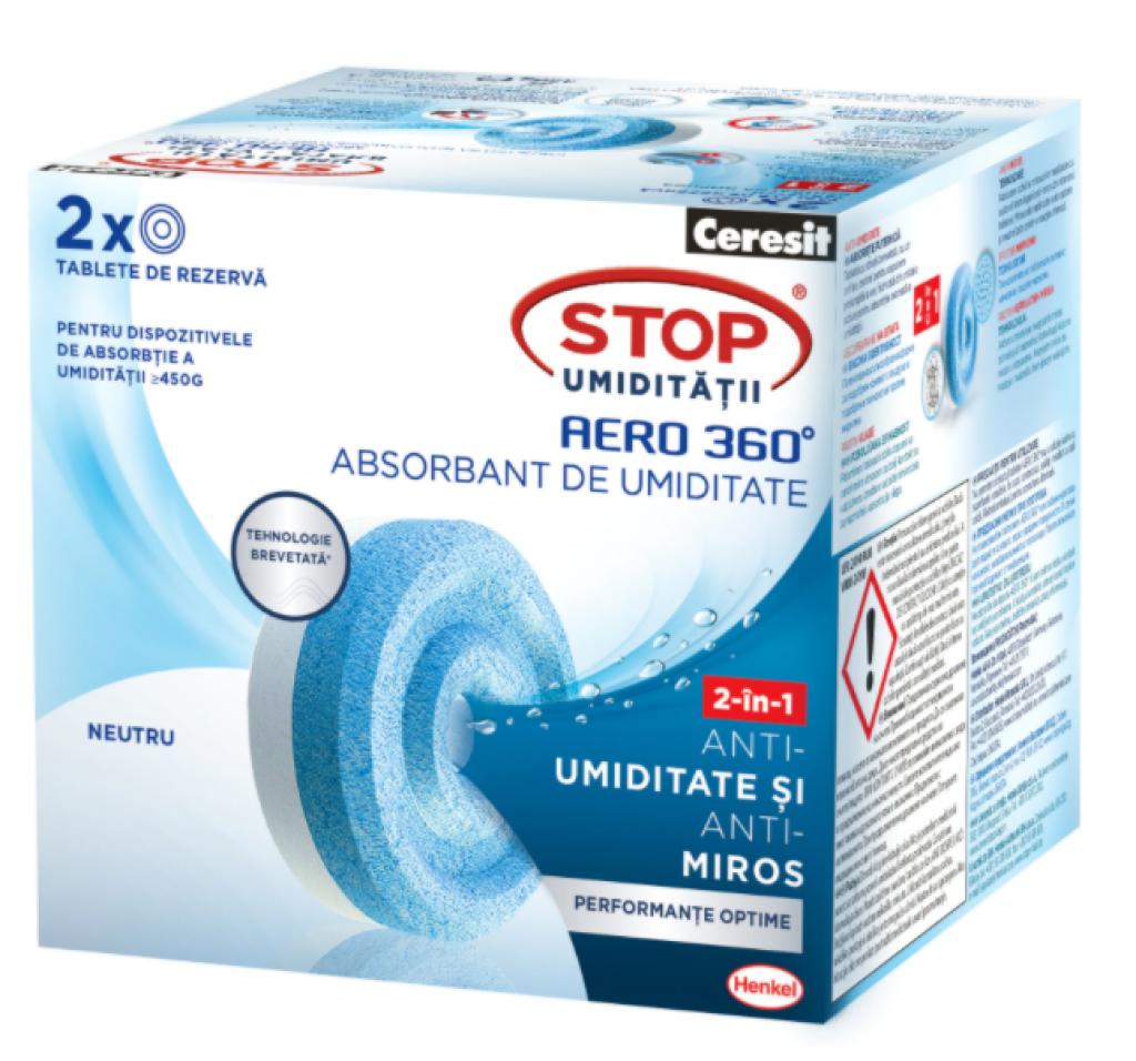 Резервни таблетки за влага Ceresit Aero 360 Neutral
