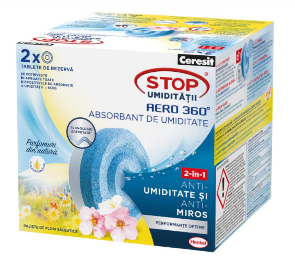 Резервни таблетки Ceresit Aero 360 Поляна с диви цветя