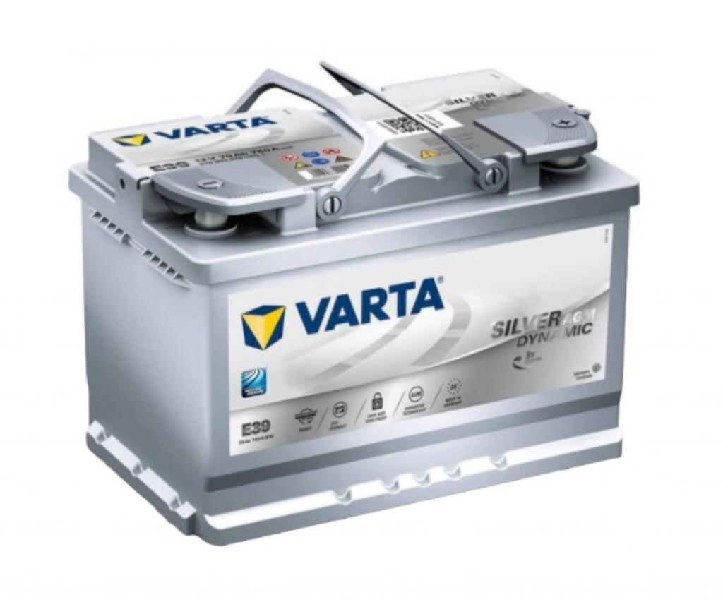 Varta AGM, 70AH, START-STOP
