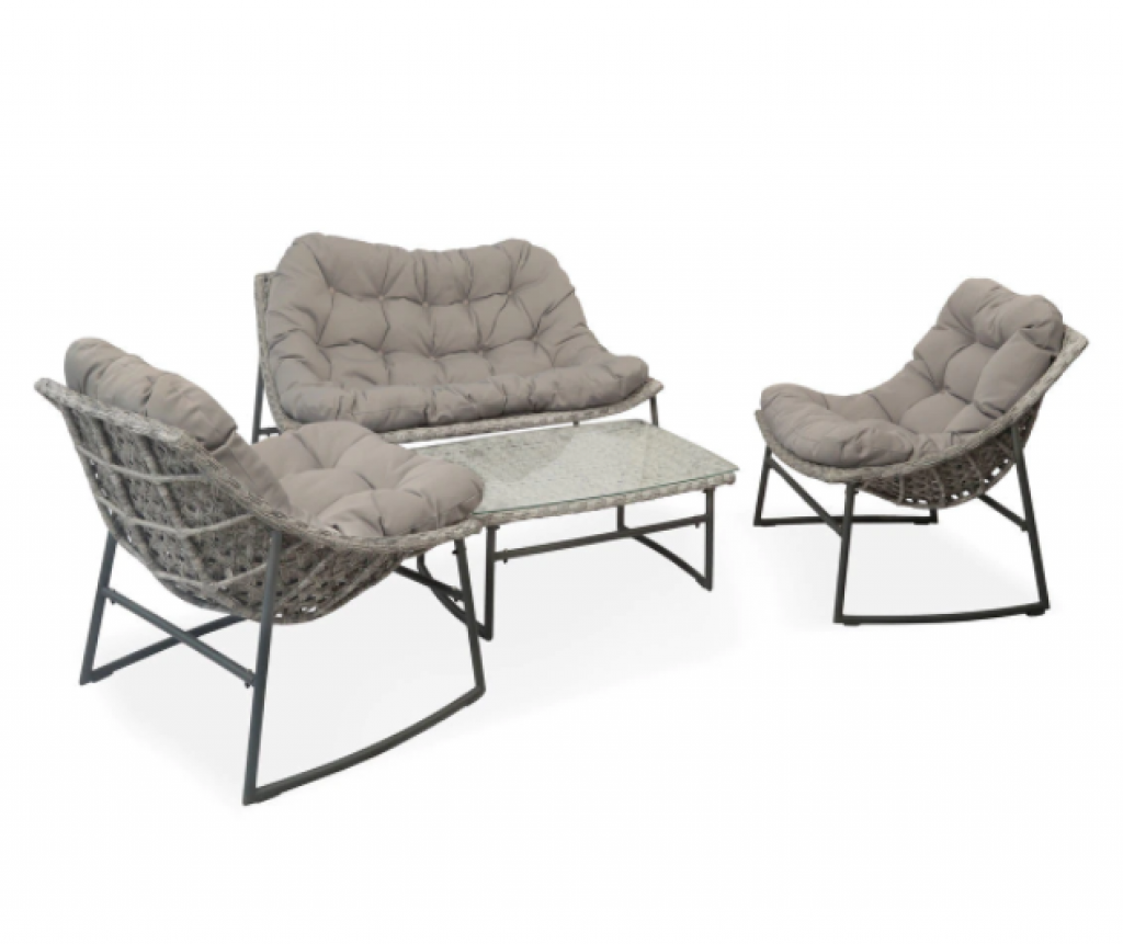 Градински мебели EGO Interiors с включени възглавници