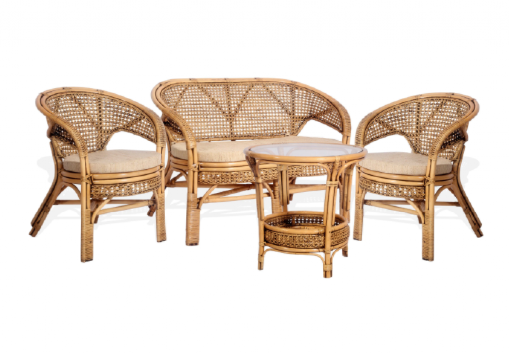 Комплект градински мебели от ратан Пеланги