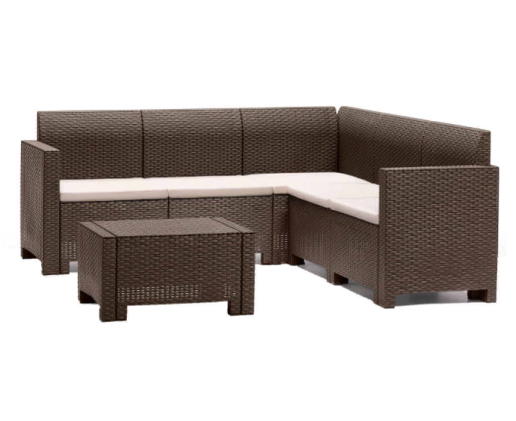 Комплект градински мебели Nebraska, Ъгъл 5 места
