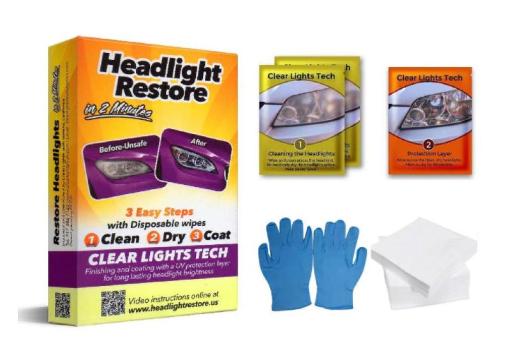 Кърпички Headlight Restore Kit