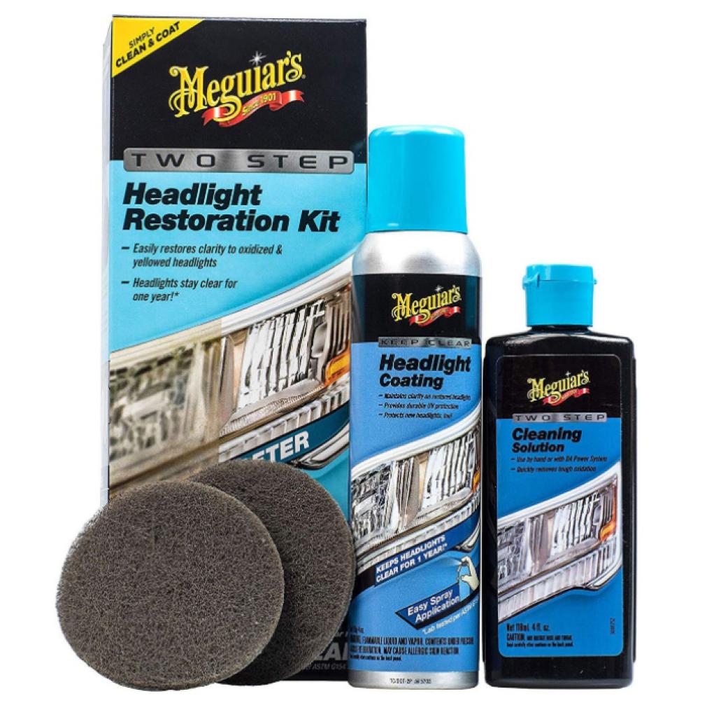 Two Step Headlight Restoration Kit